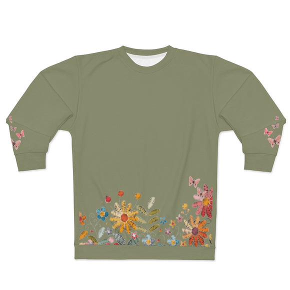 Floral Cottagecore Sweatshirt