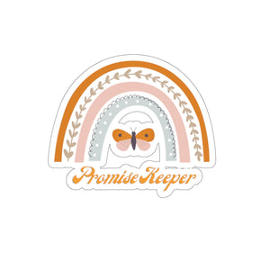 Promise Keeper Rainbow & Butterfly Sticker