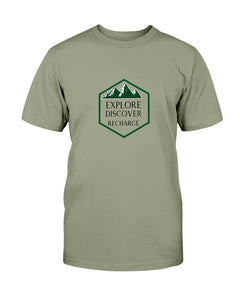 Explore Discover Recharge T-Shirt