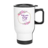 Faith Makes All This Possible Mug - white