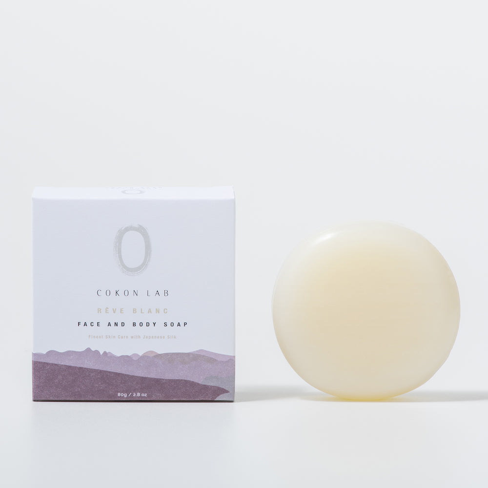 【RÊVE BLANC】 FACE & BODY SOAP 80g