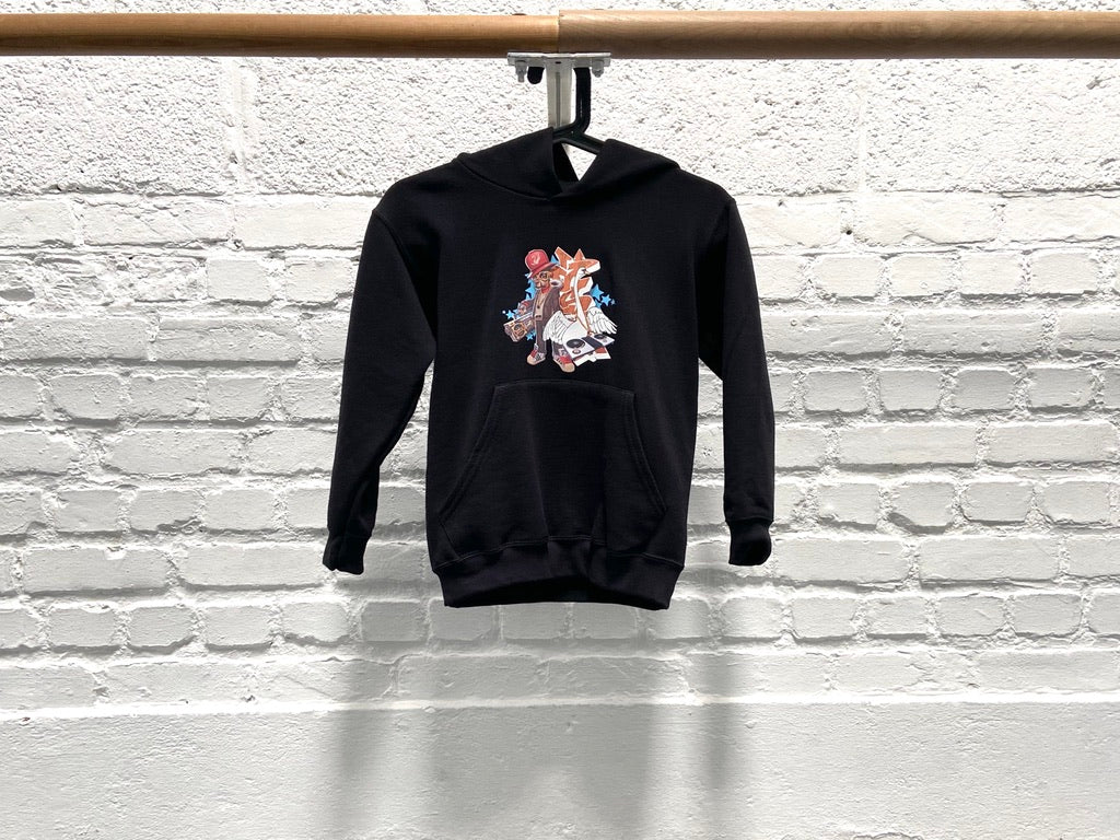 Sweater - Zwart - Graffiti (Unisex)