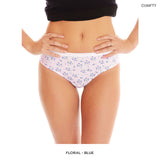 6 Pairs: Premium 100% Cotton Full-Coverage Underwear - Assorted Styles & Extended Sizes