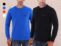 1- or 2-Pack: WoodBurn 100% Cotton Long-Sleeve Tee - Assorted Colors & Extended Sizes