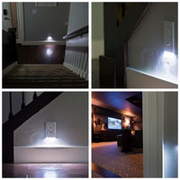 4-Pack: LED Night-Light Outlet Covers