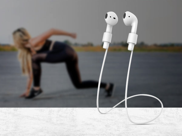 Silicone Anti-Loss Cable for Wireless Earbuds