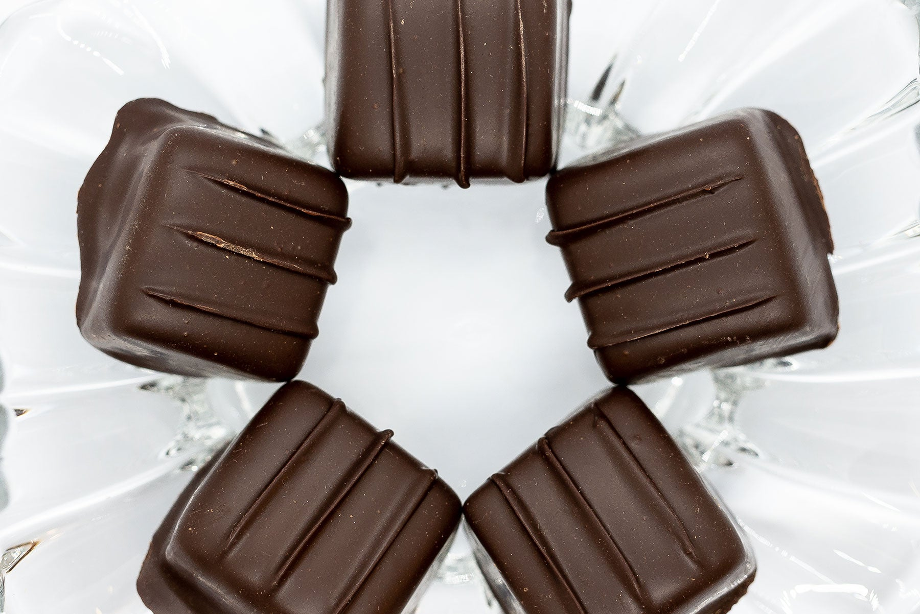 Dark Chocolate Covered Caramels