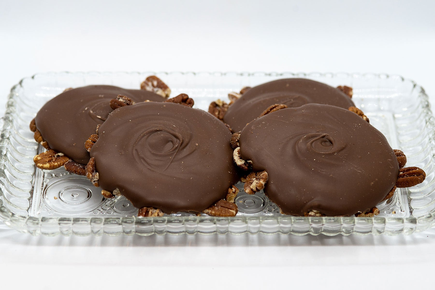 Dark Chocolate Pecan Bear Paws