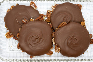 Milk Chocolate Pecan Bear Paws