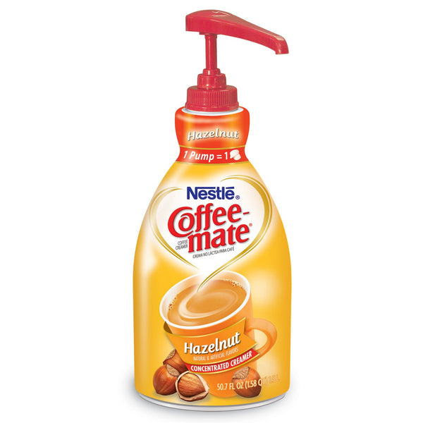 Nestle Coffee-mate Coffee Creamer, Hazelnut (1.58 qt.)