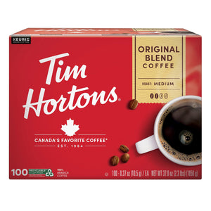 Tim Hortons Original Blend Premium Coffee (100 ct.)