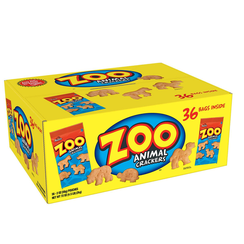 Austin Zoo Animal Crackers (2 oz., 36 pk.)