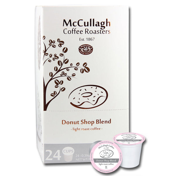McCullagh Coffee Roasters Donut Shop Light Roast Coffee (96 ct.)