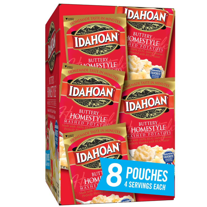 Idahoan Buttery Homestyle Mashed Potatoes (32 oz., 8 pk.)