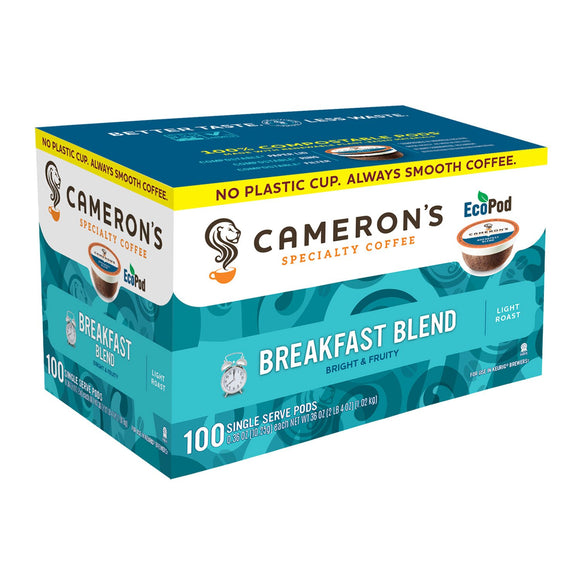 Cameron's Coffee Single-Serve Cups, Breakfast Blend (100 ct.)