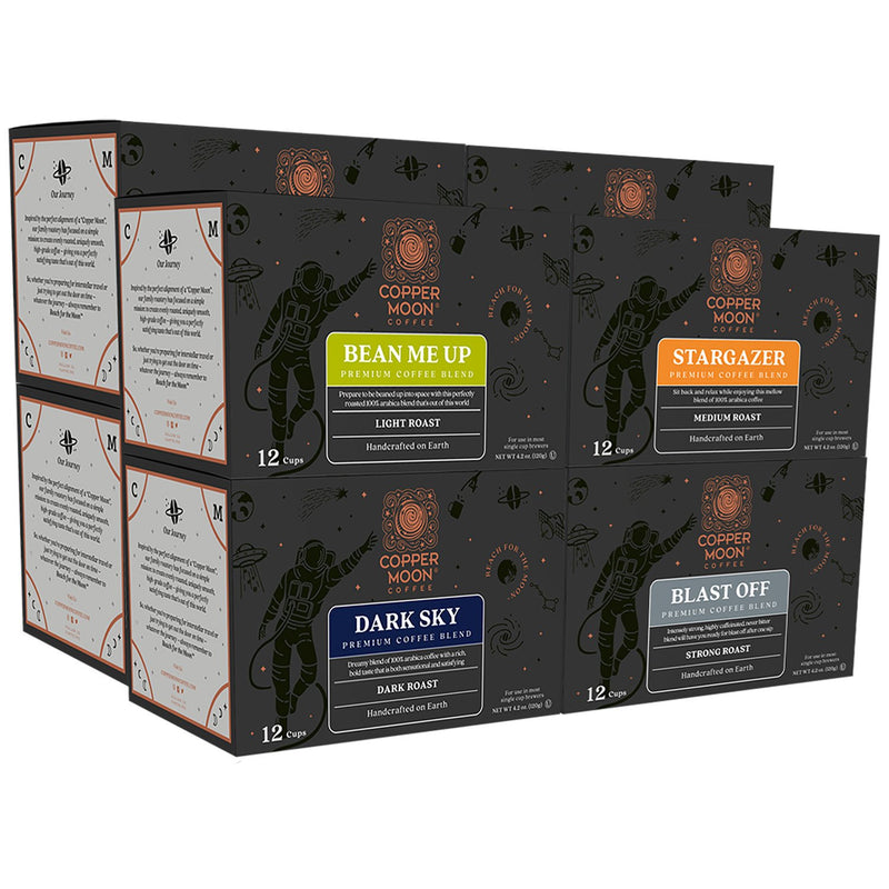 Copper Moon Coffee Single-Serve Cups, Discovery Pack (96 ct.)
