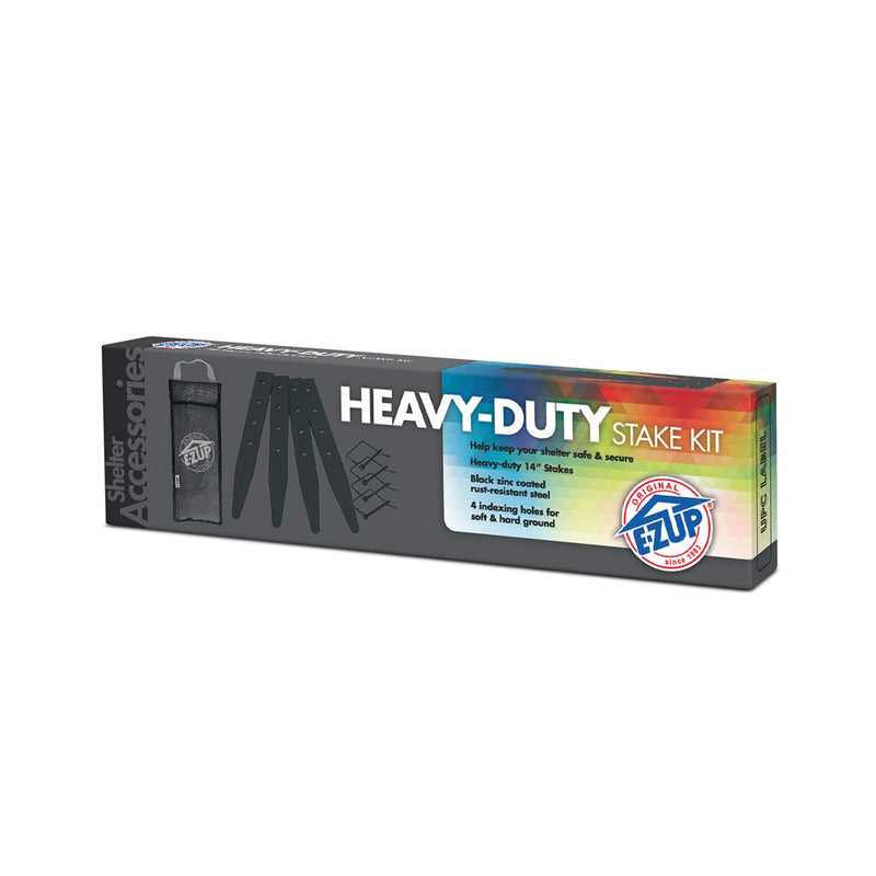 E-Z UP Heavy Duty Stake Kit, 6 Pack