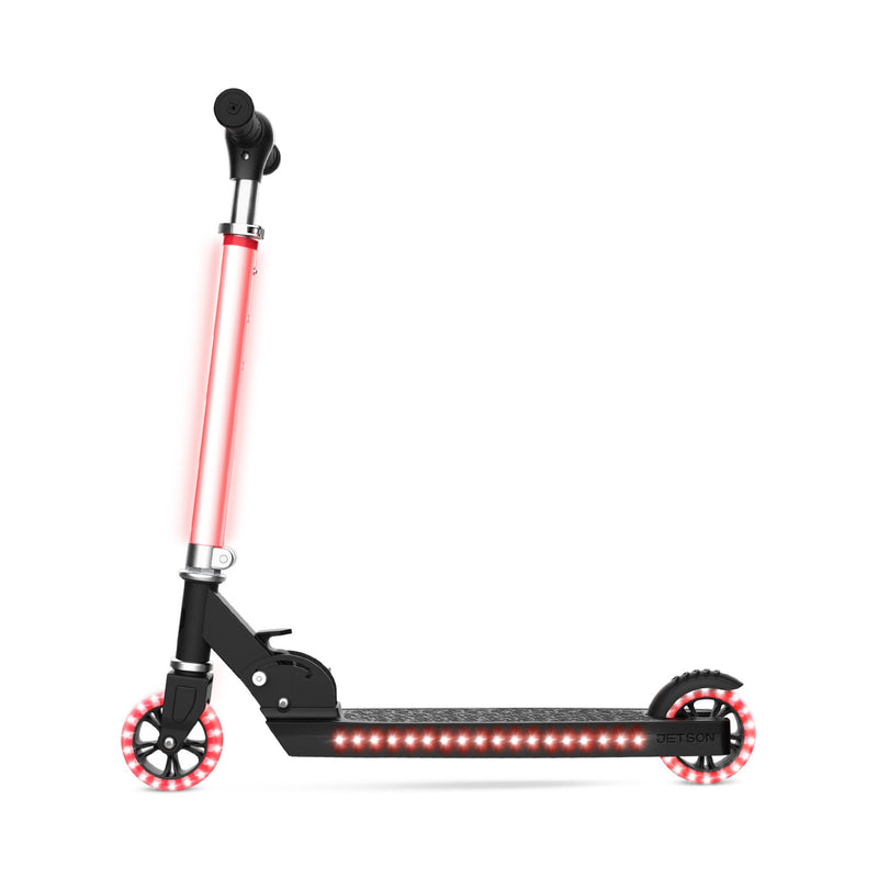 Jetson Cosmo Kids 2 Wheel Light-Up Scooter Black