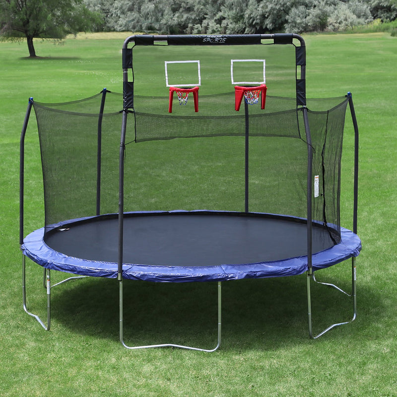 Skywalker Trampoline's Double Basketball Hoop for 15' Trampolines