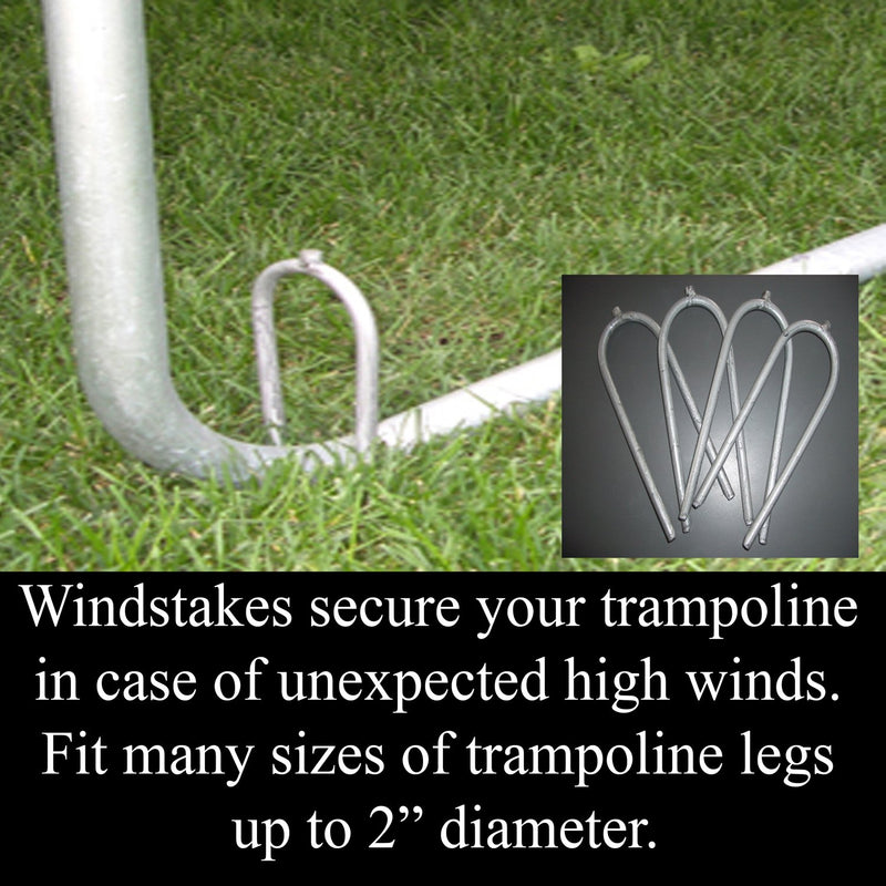 Skywalker Trampolines Wind Stakes - 4 Pack