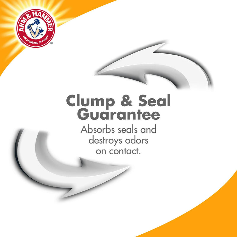 Arm and Hammer Clump and Seal Litter, Multi-Cat Litter 14lb