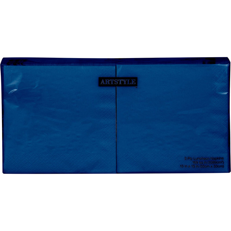 "Artstyle Navy Napkins Twin Stack, 6.5"" (200 ct.)"