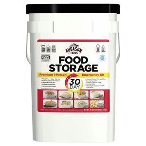 Augason Farms Emergency Food Supply (30-Days 1-Person) QSS Certified