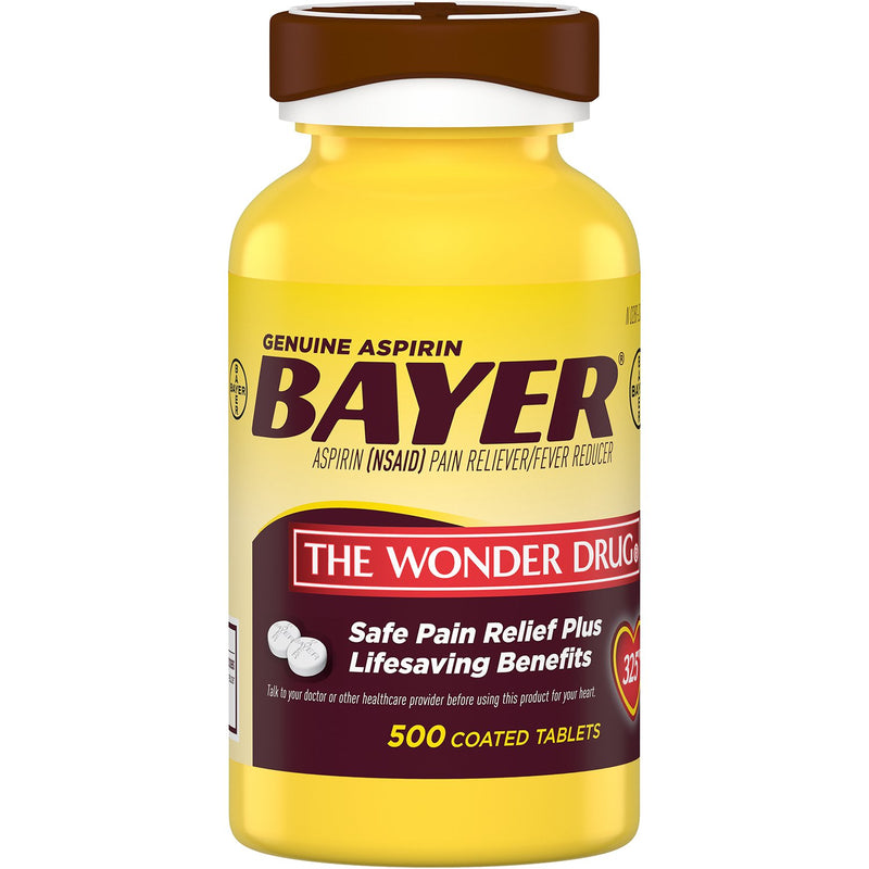 Bayer Genuine Aspirin (500 ct.)