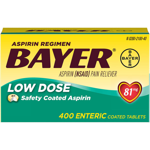 Bayer Low Dose Aspirin Regimen (400 ct.)