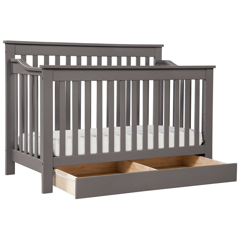 DaVinci Piedmont 4-In-1 Convertible Crib with Toddler Bed Conversion Kit (Choose Your Color)