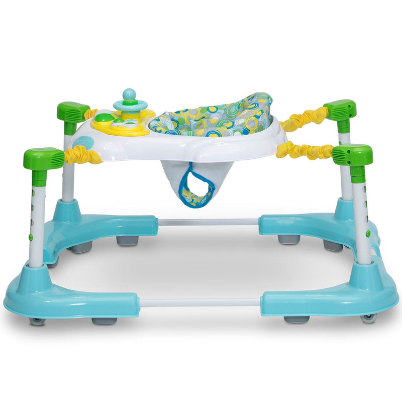 Delta Children First Steps 3-in-1 Sit-to-Stand Bouncer, Roundabout