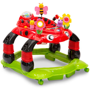 Delta Children Li'l Play Station 4-in-1 Activity Walker (Choose Your Color)