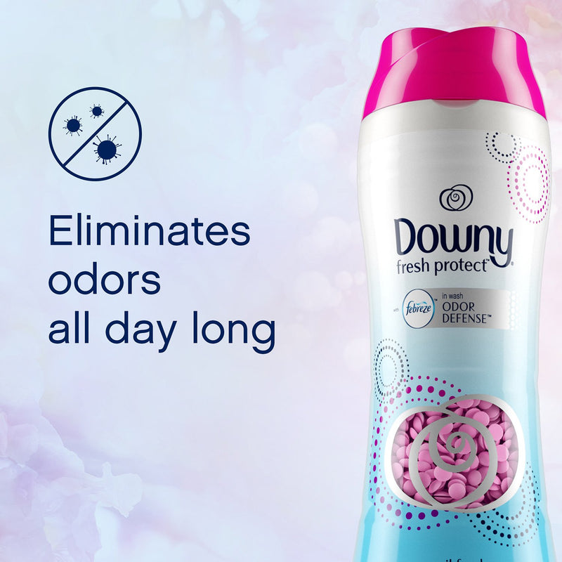 Downy Fresh Protect In-Wash Scent Beads with Febreze Odor Defense, April Fresh (37.5 oz.)
