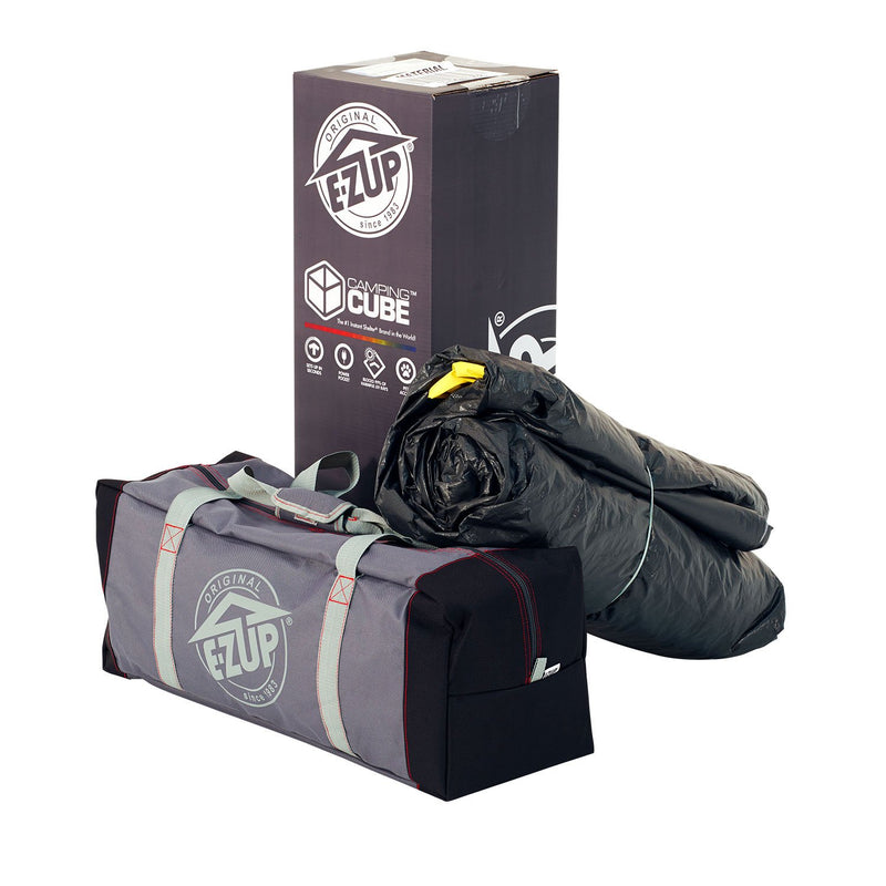 E-Z UP Camping Cube 6.4, Straight Leg with Carry Bag