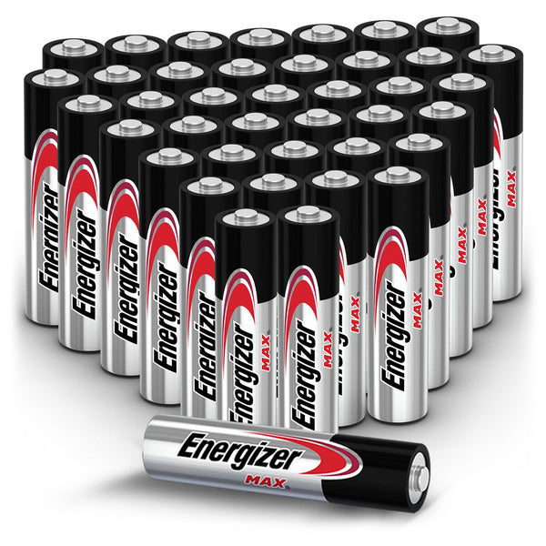 Energizer MAX AAA Batteries (40 Pack), Triple A Alkaline Batteries