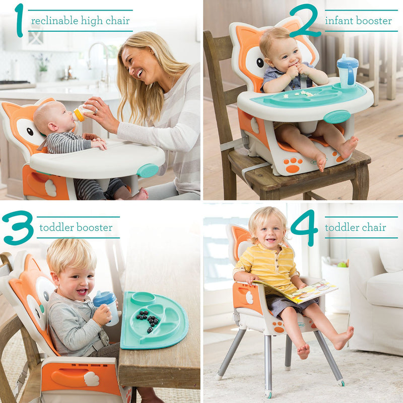 Infantino Grow-With-Me 4-in-1 Convertible High Chair (Choose Your Style)