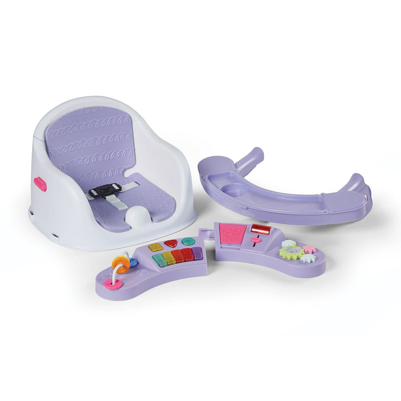 Infantino Music and Lights 3-in-1 Discovery Seat and Booster (Choose Your Color)