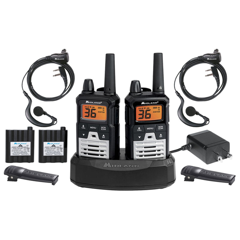 Midland X-Talker 40-Mile Radios T290VP4 (2 Pack)