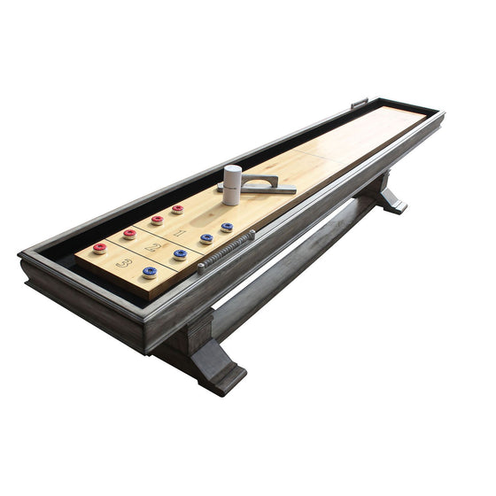 Montecito 12' Shuffleboard Table - Driftwood Finish