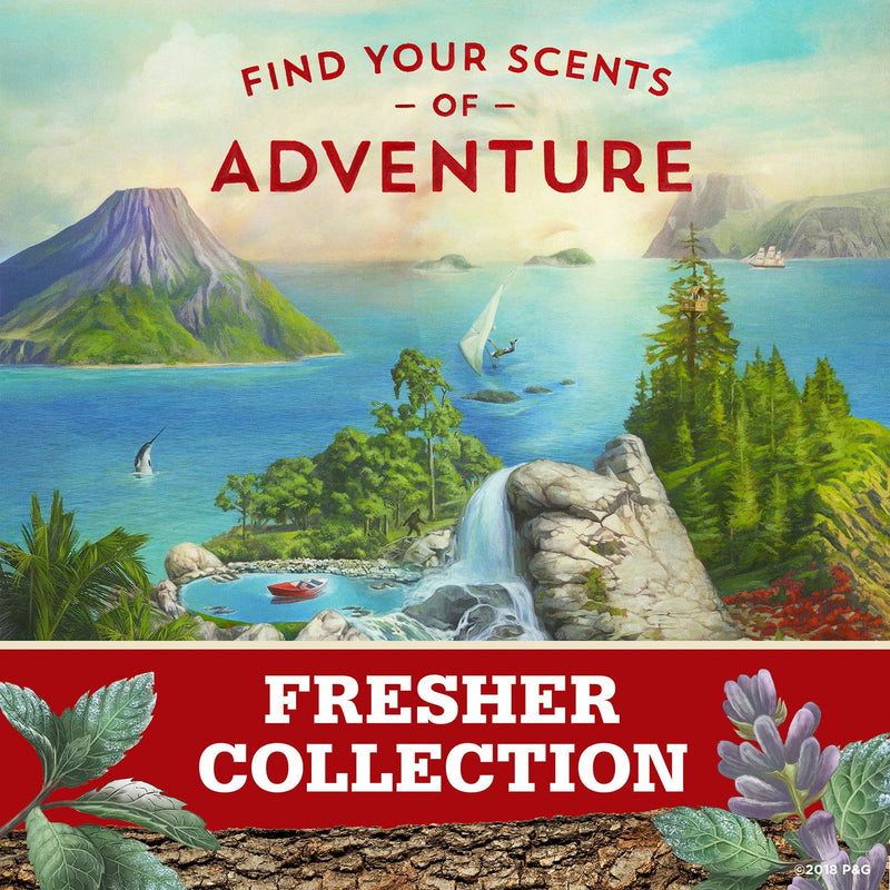 Old Spice Invisible Solid Antiperspirant Deodorant for Men Fiji with Palm Tree Scent Inspired by Nature (2.6 oz., 4 pk.)