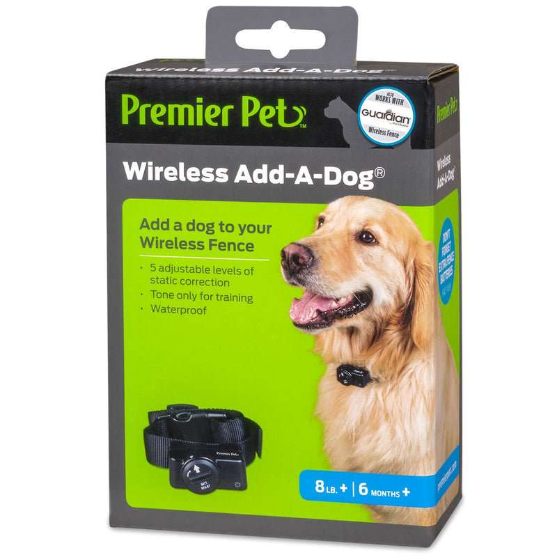Premier Pet Wireless Add-a-Dog Collar