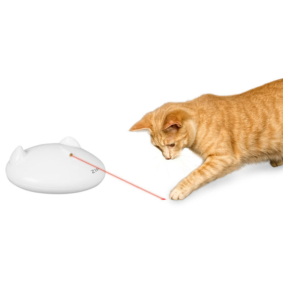Premier Pet Zip Laser Cat Toy (AA Batteries Not Included)