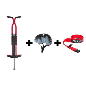 Red Master Pogo with Flyscraper Helmet, M/L