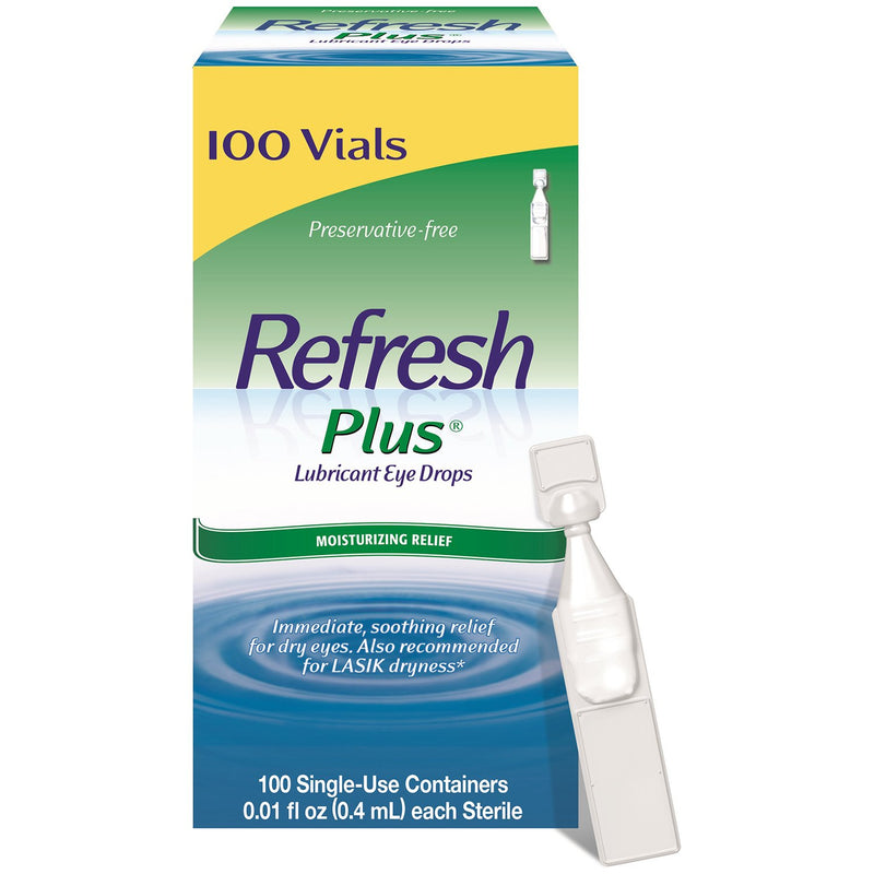 Refresh Plus Eye Drops Single-Use Vials ( 100 ct.)