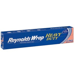Reynolds Wrap 18  Heavy Duty Aluminum Foil, 150 Sq. Ft (2 Ct.)