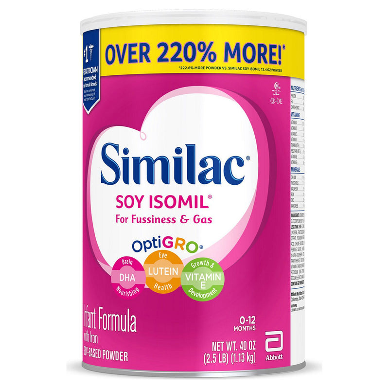 Similac Soy Isomil Infant Formula (40 oz.)