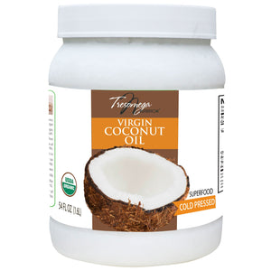 Tresomega Nutrition Organic Virgin Coconut Oil (54 oz., 6 ct.)
