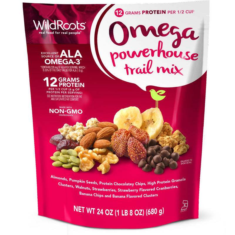WildRoots Omega Powerhouse Trail Mix (24 Oz.)