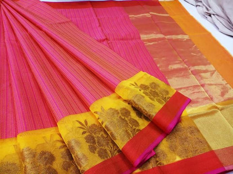 tanchoi silk saree