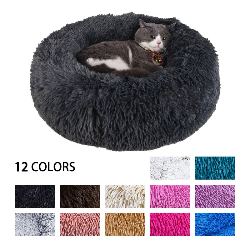 Pet Bed - Washable Soft Plush